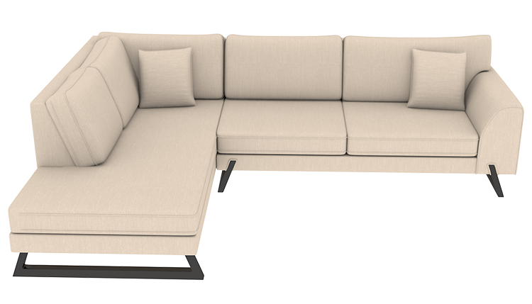 Cool Custom Easton Large Chaise Lounge Left Cre8 A Couch Creativecarmelina Interior Chair Design Creativecarmelinacom
