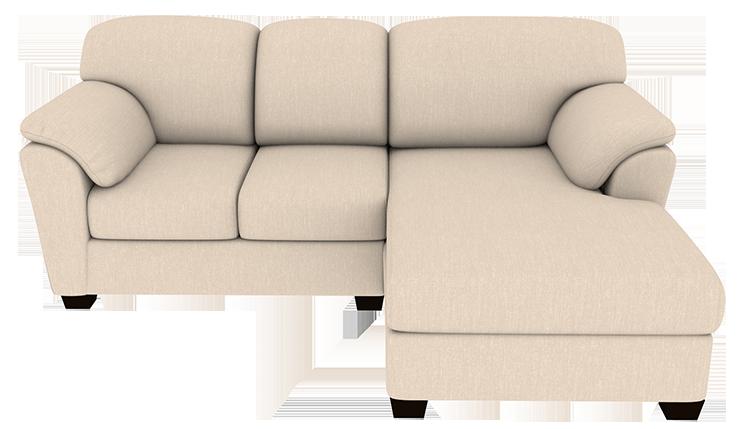 Custom Trevor Small Chaise Sofa   Left