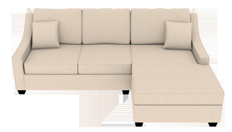 Custom Vega Small Chaise Sofa   Right